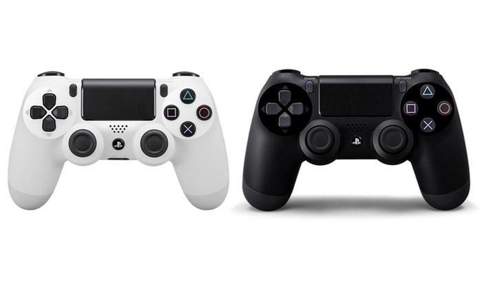 TitoloJoypad Sony Dual Shock 4 ricondizionato per PS4 disponibile in 2 colori con spedizione gratuita