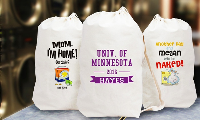 Up To 52 Off Personalized Laundry Bags