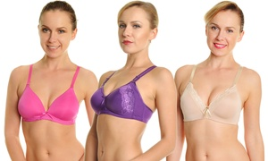 Angelina All-Day-Comfort Wireless Bras (6-Pack) at Angelina All-Day-Comfort Wireless Bras (6-Pack), plus 9.0% Cash Back from Ebates.