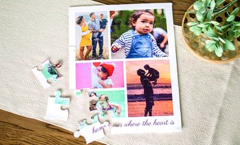 Up to 79% Off Custom Photo Adult Puzzles from Collage.com
