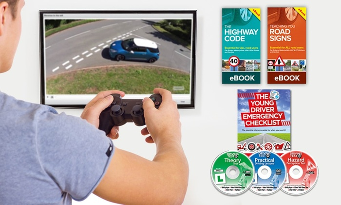 Premium Learner Driver Test Gift Pack for Games Consoles, Mac, DVD and PC Driving Test Software for £6.98