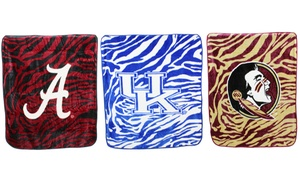"NCAA Licensed 50""x60"" Throw Blanket"