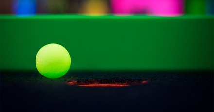 Three Rounds of Glow-in-the-Dark Mini Golf with Optional Laser Maze Challenge at Glowgolf (Up to 48% Off).