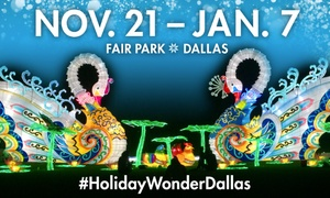 Up to 50% Off Admission to Holiday Wonder at Holiday Wonder, plus 6.0% Cash Back from Ebates.