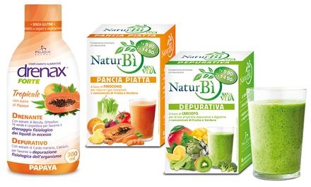 Integratori alimentar Paladin Pharma Drenax Forte e Naturbì