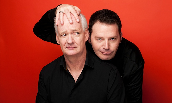 "Colin Mochrie & Brad Sherwood - Morrison Center: Colin Mochrie & Brad Sherwood of ""Whose Line Is It Anyway?"" on Saturday, April 23, at 8 p.m."
