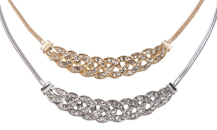 Statement Crystal Choker