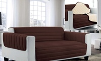 Funda de sofá acolchada de microfibra hipoalergénica desde 32,98 € (hasta 57% de descuento)