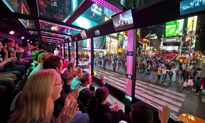 The Tour - Times Square: Adult or Childrens' Ticket to The Tour (Up to 36% Off)
