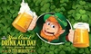 Up to 61% Off St. Patrick's Day Party