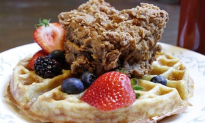 Oleanders: Brunch or Dinner for Two or Four or More at Oleanders (Up to 46% Off)