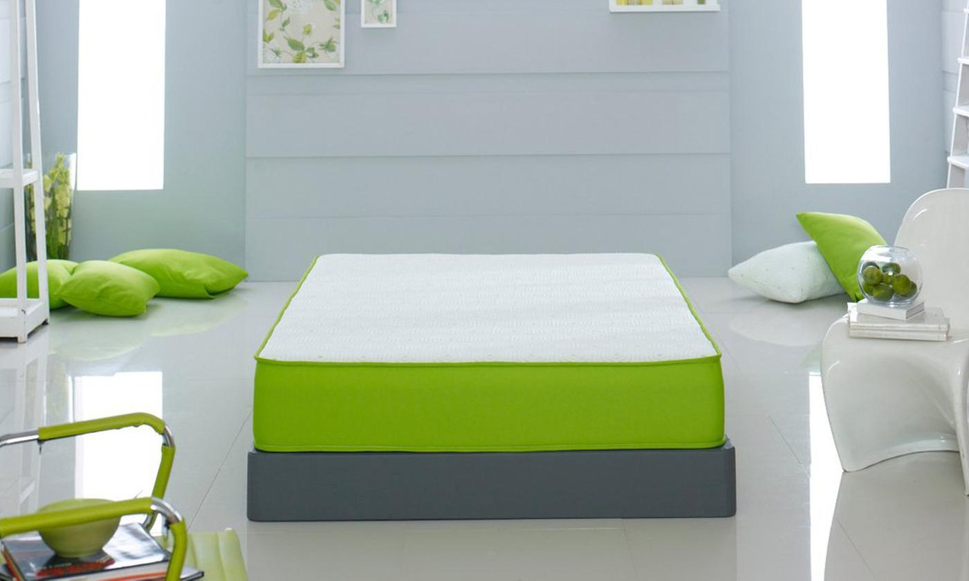 Lime Hybrid Memory Bonnell Mattress from £75 (81% OFF)