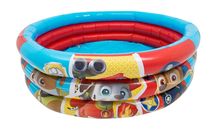 deals inflatable pool and play mat