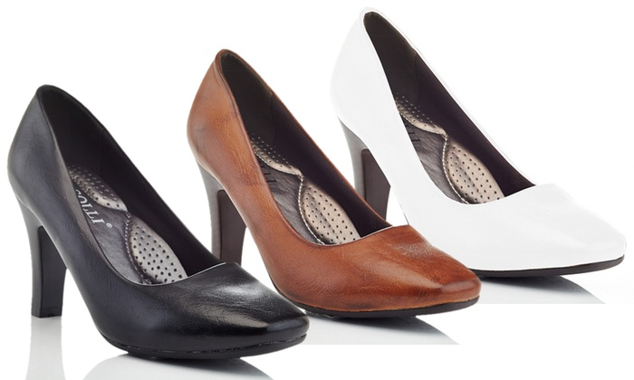 fa9ed8b80e48 Up To 57% Off on Women s Wide-Width Dress Shoes