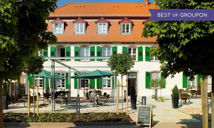 Schlosshotel Bergzaberner Hof - Schlosshotel Bergzaberner Hof: Bad Bergzabern: 3-6 Tage zu zweit inkl. Frühstück, Therme und Wellness im 4* Schlosshotel Bergzaberner Hof