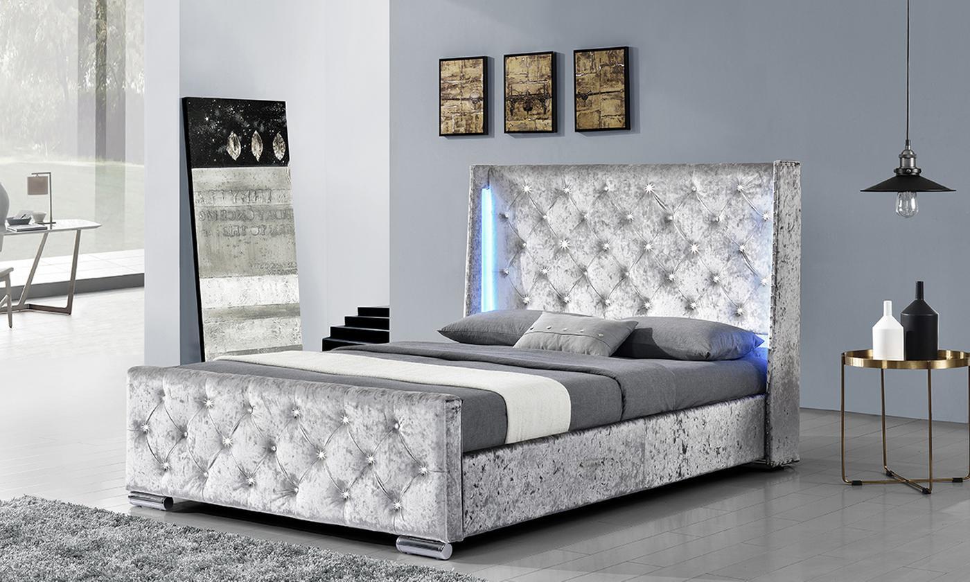Dorchester LED Bed Frame with Optional Orthopedic Mattress