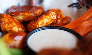 Wing Nutz: Baked Wings and Pub Food at Wing Nutz (Up to 42% Off)