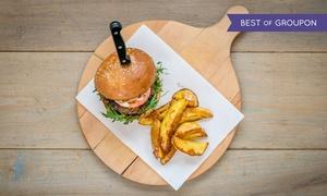 Restauracja Włoszczyzna: 2 dowolne burgery z frytkami za 33,99 zł i więcej opcji w Restauracji Włoszczyzna (do -34%)