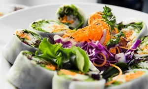 Ruby Asian Fusion & Sushi Bar: Sushi, Asian-Fusion Food, and Drinks for Two or Four at Ruby Asian Fusion & Sushi Bar (Up to 44% Off)