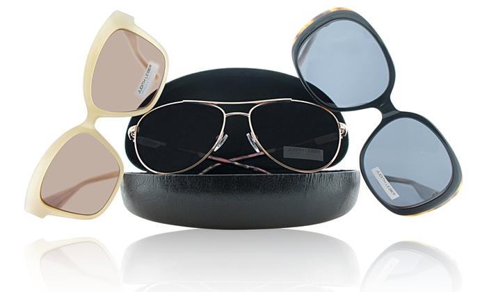 Judith Leiber Women's Chic Sunglasses