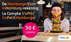 ING Belgium: Ouvrez votre premier ING Lion Account gratuit et recevez 50 euros