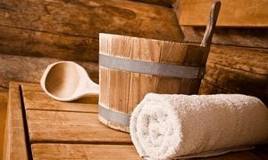 Sauna Gidwi: Dagtoegang sauna met massage en driegangenmenu of enkel met massage vanaf €29