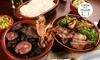 Manda Brasa Carnes e Cervejas - Goiânia: Manda Brasa Carnes e Cervejas – Jardim América: buffet de feijoada à vontade para 2 ou 4 pessoas