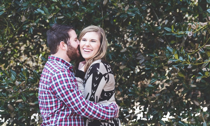 Feather & Gold Photography - Baltimore: 45-Minute Engagement Photo Shoot from Feather & Gold Photography (43% Off)