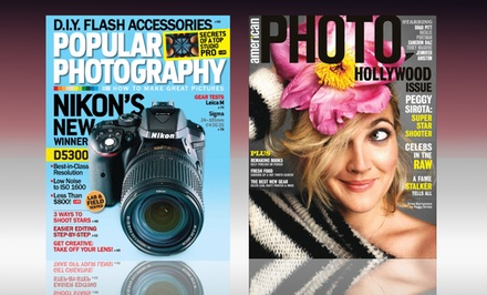 1-Year Subscription to American Photo or Popular Photography Magazine
