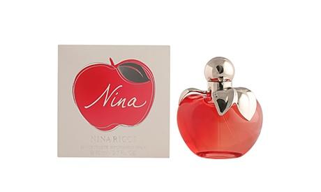 EDT Nina para ella de 80 ml por 40,99 € (44% de descuento)