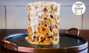 Tchê Lanches: 1 ou 2 torres de batata frita + 1 torre de chope na Tchê Lanches – Alto da Glória