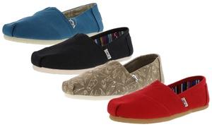 Toms Women's Classic Canvas Shoe