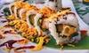 ⏰ Menu All you can eat sushi