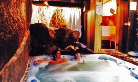 Sesión de spa privado de 60 minutos en cueva termal para dos personas por 24,95 € en Orgullo Rural