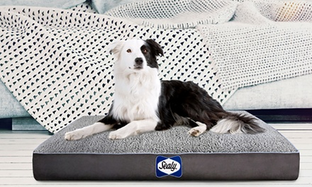 Sealy Orthopedic & Memory Foam Cooling Dog Bed. Multiple Options Available.