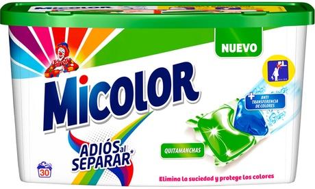Hasta 5 botes de detergente en cápsula Micolor Duo-Caps Oferta en Groupon