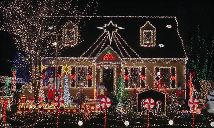 Eastside Holiday Lights - Seattle: $125 for Up to 125 Feet of Holiday-Lighting Installation and Removal from Eastside Holiday Lights ($250 Value)