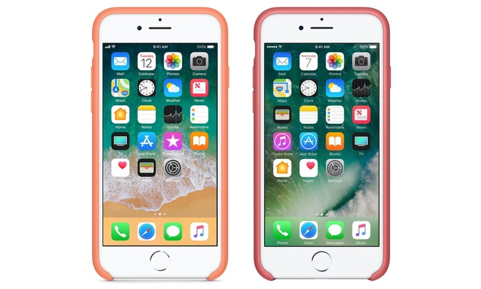 Apple Iphone 8 7 Silicone Case Groupon