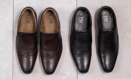 Redfoot Slip-On Brogue Shoes
