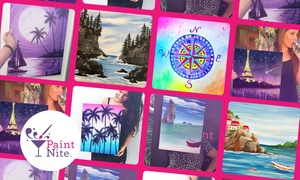 The Original Paint Nite at Local Bars (Up to 43% Off)  at Paint Nite, plus 6.0% Cash Back from Ebates.