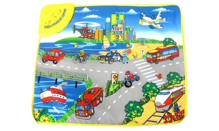 Big City Musical Playmat for Toddlers