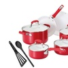 Guy Fieri Nonstick Cookware Set (12-Piece)