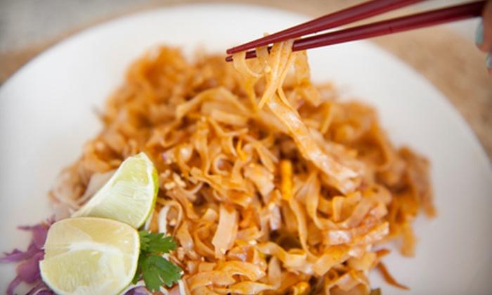 The Queen & I Thai Restaurant - St. Petersburg: $12 for $25 Worth of Thai Fare at The Queen & I Thai Restaurant in St. Petersburg