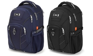 High Sierra BusinessTech Backpack with Padded Laptop Sleeve