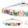 Emoji Charm Good Luck Bracelet
