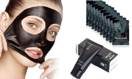 Pack de 10, 20 o 40 mascarillas para eliminar puntos negros, o 1 o 2 tubos con mascarilla para eliminar puntos negros