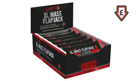 12 Matrix XL Mass Protein Chocolate Flapjacks