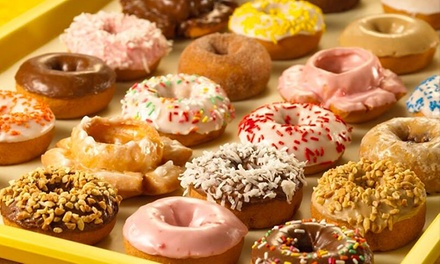 Donuts and Coffee at Jessica's Handmade Donuts (Up to 42% Off). Two Options Available.