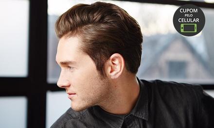 Ministro Mens Club Barbearia   Sudoeste: corte masculino estilizado ou tradicional (opção de barba com barbaterapia)