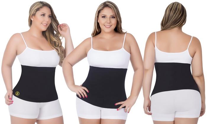 Womens Hot Abs Waist Slimmer Plus-Size Belt  Groupon-1583